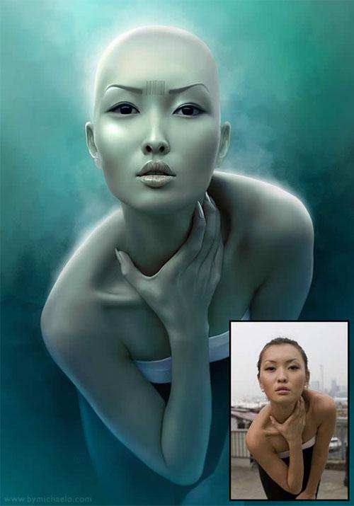 fotomontagens ilustrações gráficas arte digital