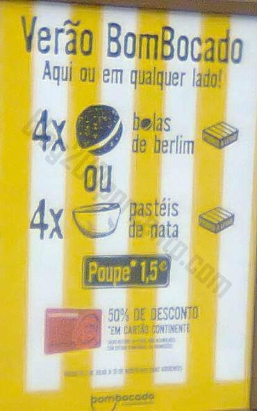 50% de desconto BOM BOCADO Bolas e Natas !