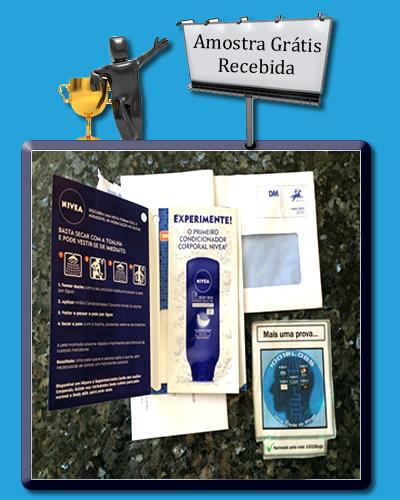 Amostras Nivea - Condicionador Corporal - Recebido - TERMINOU  15166258_m7EMN