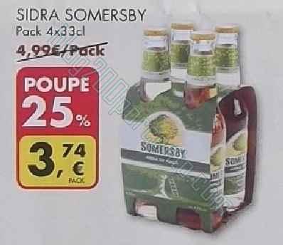 Acumulação 25% + vale | PINGO DOCE | de 6 a 10 de maio* - Sidra Somersby
