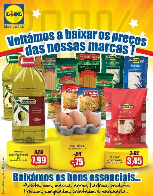 Baixa de Preços | LIDL | a partir de 28 março