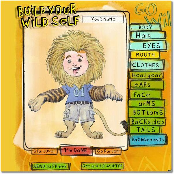 desenha avatar animal selvagem