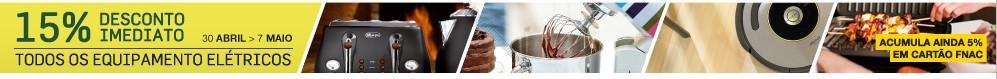 15% de desconto | FNAC | até 7 maio - Cozinha e Lar