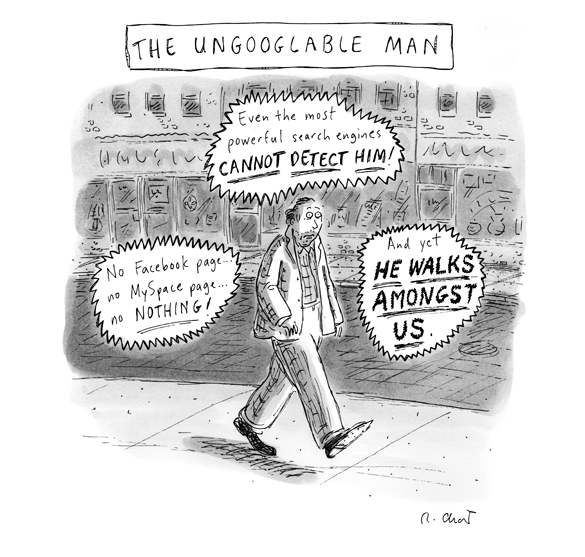 the ungoogable man
