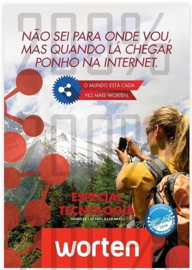 Novo folheto | WORTEN | Especial Técnologia de 2 abril a 6 maio