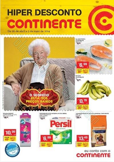 Antevisão folheto   CONTINENTE   de 29 abril a 5 maio - Online