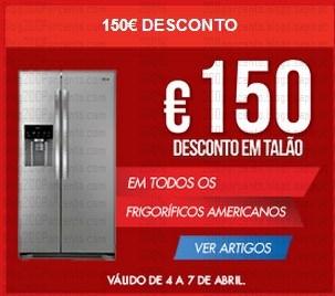 150€ de desconto em talão | WORTEN | de 4 a 7 abril