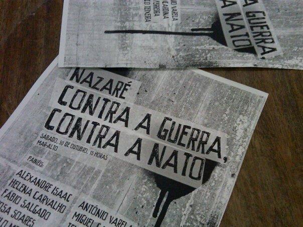 Nazaré contra a guerra contra a Nato