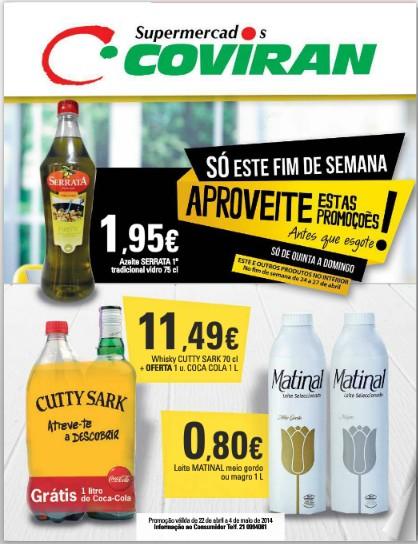 Novo folheto | COVIRAN | de 22 abril a 4 maio