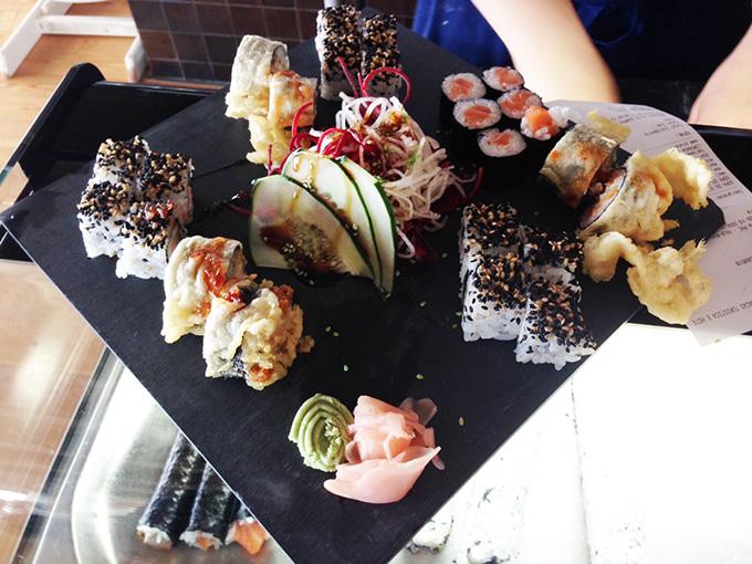 sushi anfiteatro