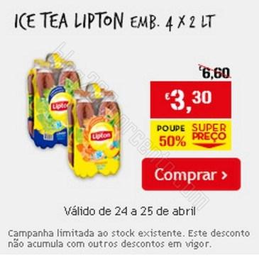 Super Preço | CONTINENTE | dias 24 e 25 abril - Lipton