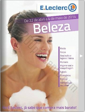 Antevisão Folheto   E-LECLERC   Beleza de 22 abril a 4 maio