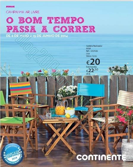 Novo folheto | CONTINENTE | Ar Livre de 6 maio a 15 junho