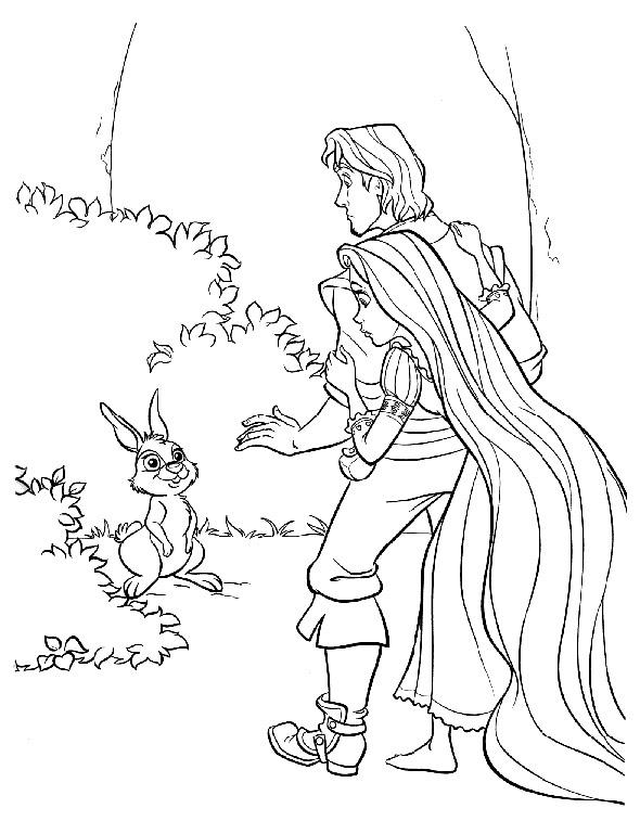 Pinta A Rapunzel 7 A Magia Da Disney