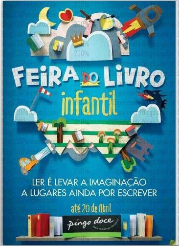 Novo Folheto | PINGO DOCE | Feira do Livro Infantil até 20 abril