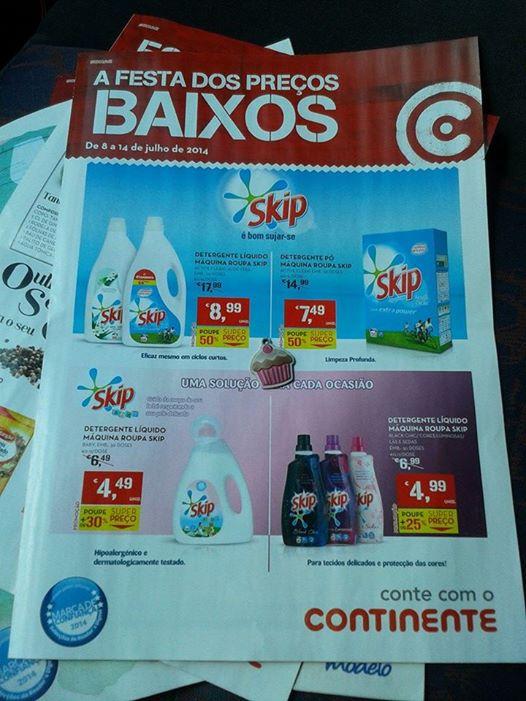 Antevisão Folhetos CONTINENTE detergentes - vinhos e temperos