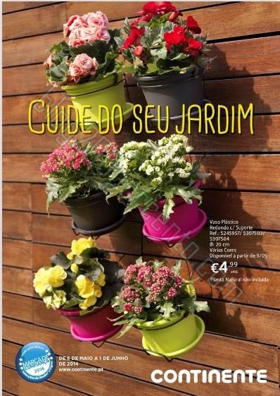 Novo folheto | CONTINENTE | de 6 maio a 1 de junho - Jardim + PetCare