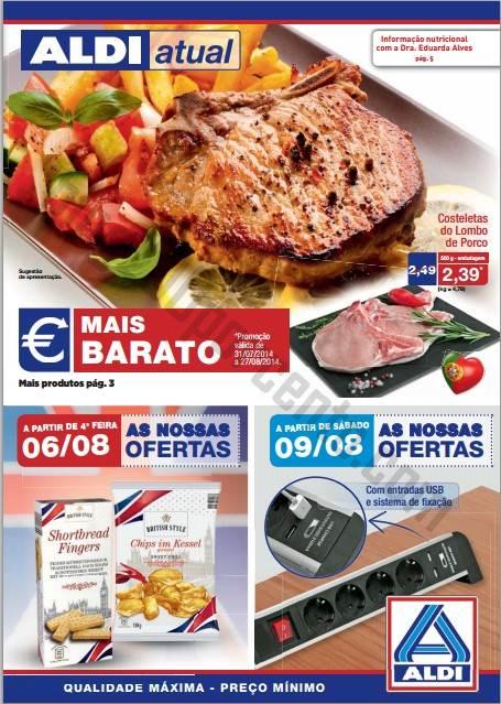 Antevisão Folheto ALDI Promoções a partir de 6 agosto