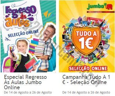 Novos folhetos JUMBO Promoções de 14 a 26 agosto - Apenas Online