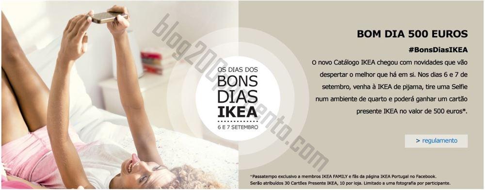 Passatempo IKEA - Bom dia 500 euros !, hoje e amanhã