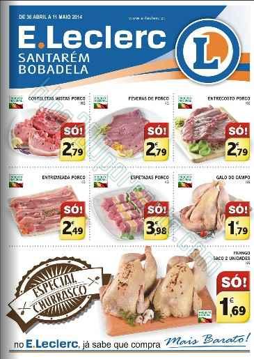 Folheto   E-LECLERC   Santarém / Bobadela até 11 maio