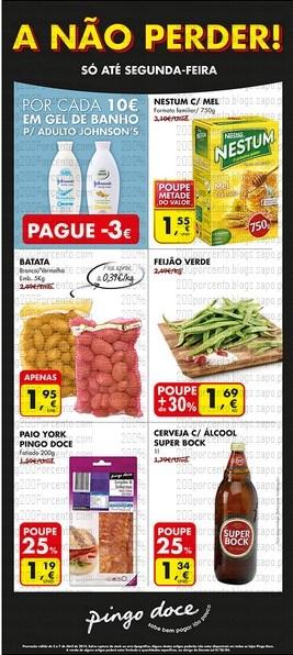 Novo Folheto | PINGO DOCE | A não Perder - de 3 a 7 abril