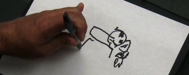 desenho cego