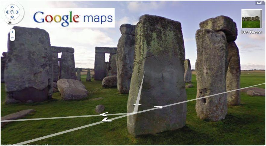 stonehenge google maps