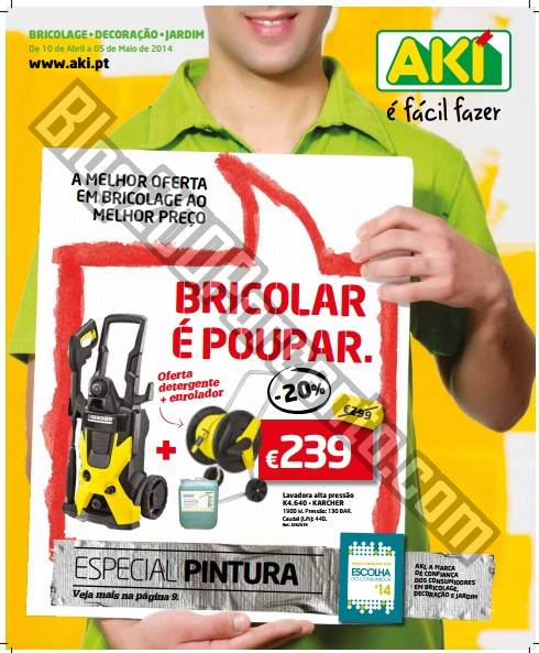 Novo folheto | AKI | de 10 abril a 5 maio - Especial Pintura