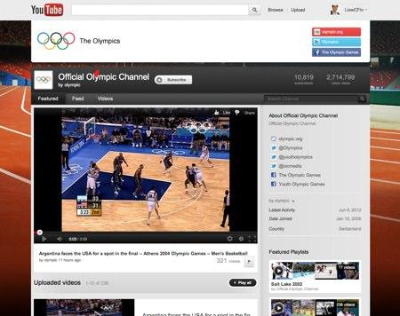 jogos olimpicos youtube
