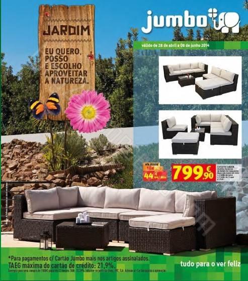 Novo folheto   JUMBO   de 28 abril a 8 junho - Jardim