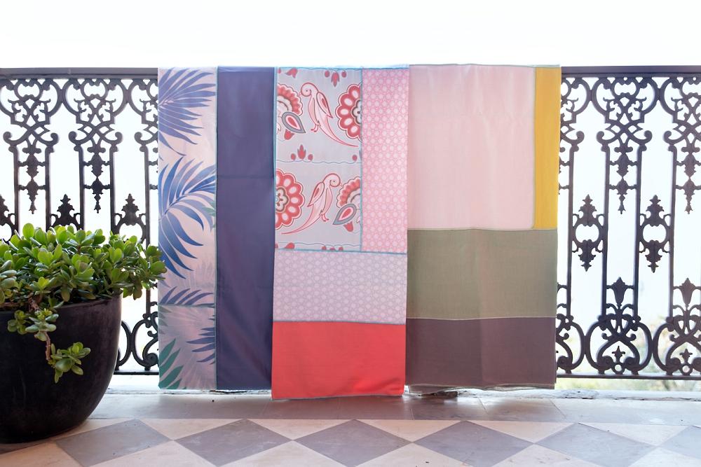 Selecção de toalhas Milpanos para a mesa de Páscoa Mundo de Sofia