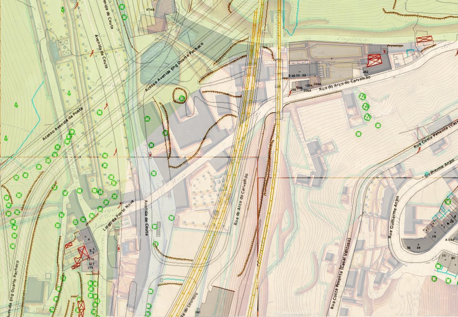 lisboa interactiva mapa Considerações sobre o lugar da Ponte Nova   Bic Laranja lisboa interactiva mapa