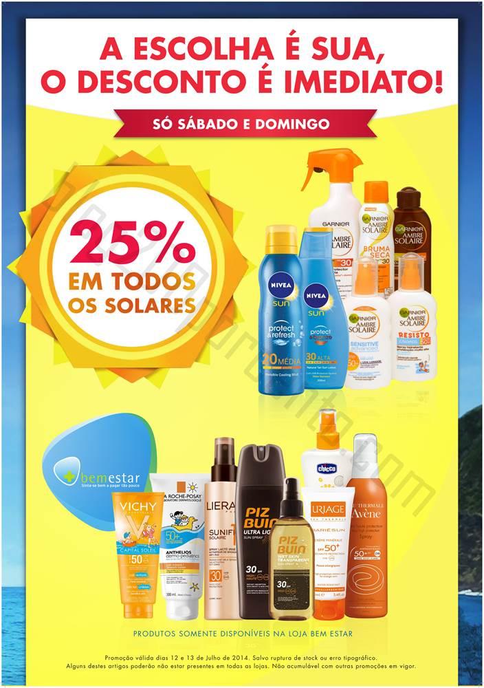 Promoção 25% desconto PINGO DOCE todos os solares só sabado e domingo