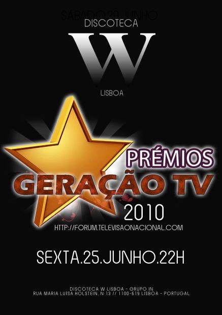 Prémios Geração TV 2010