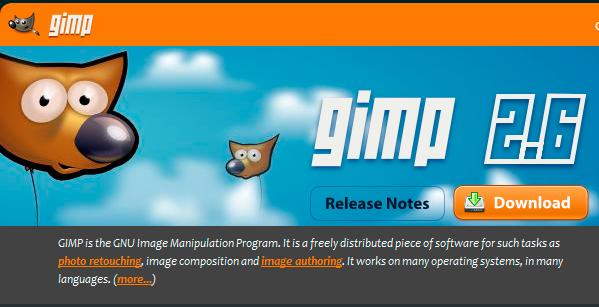 gimp baixar download