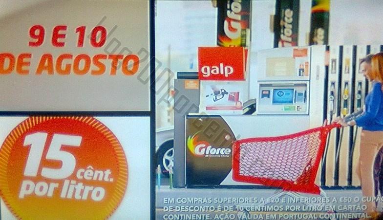 Promoção GALP / CONTINENTE Fim de semana