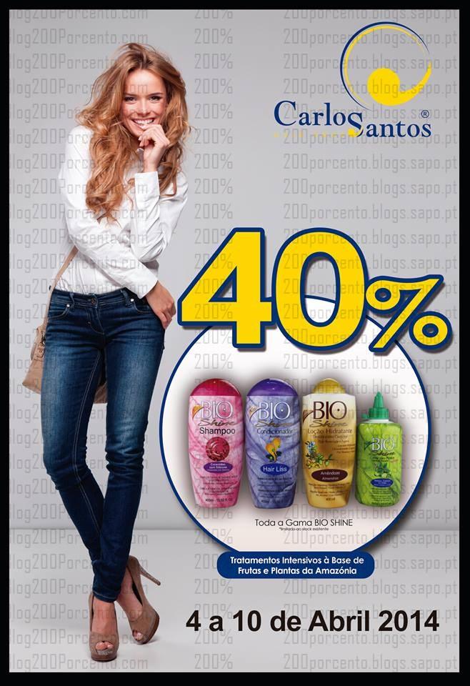 40% de desconto imediato | CARLOS SANTOS HS | até 10 abril