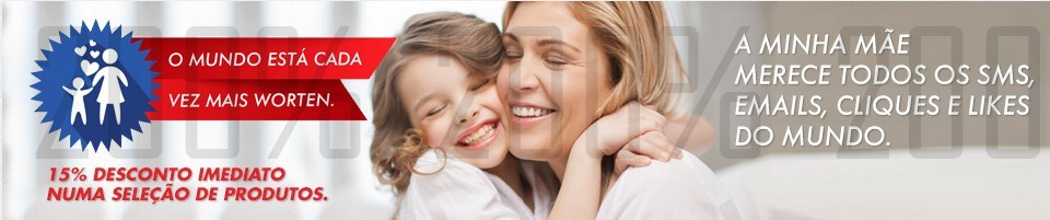 15% de desconto imediato | WORTEN | Dia da Mãe, até 5 maio