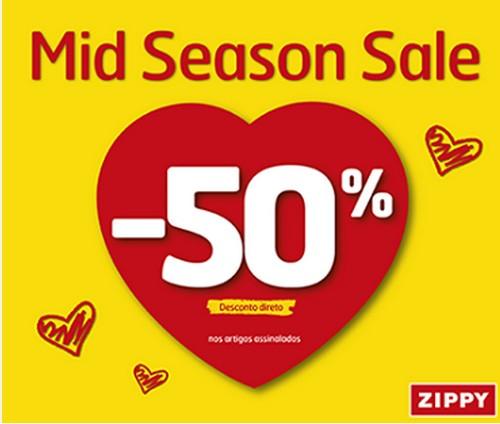 50% de desconto | ZIPPY | até 11 maio