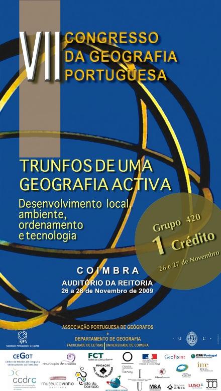 VII Congresso da Geografia Portuguesa