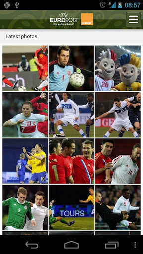 euro 2012 android app