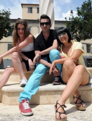 Rita Vian, Eduardo Bettencourt e Dennisa em Maio de 2011 3 aos Clássicos