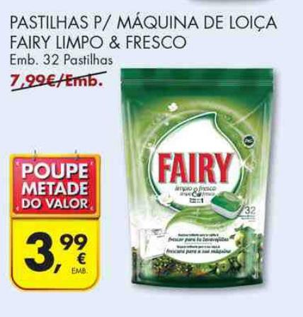 bricopoupar acumulação promoção pingo doce fairy