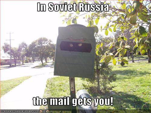 correios russos