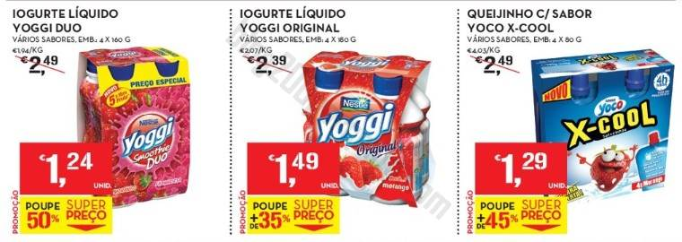 Acumulação até 50% + Vales CONTINENTE de 8 a 14 julho - Nestlé