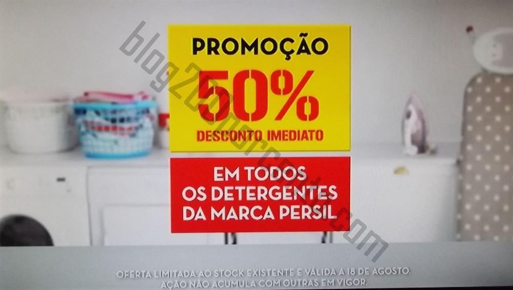 Avistamento 50% de desconto CONTINENTE Persil e DeltaQ