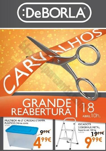 Folheto | DEBORLA | Carvalhos até 27 abril