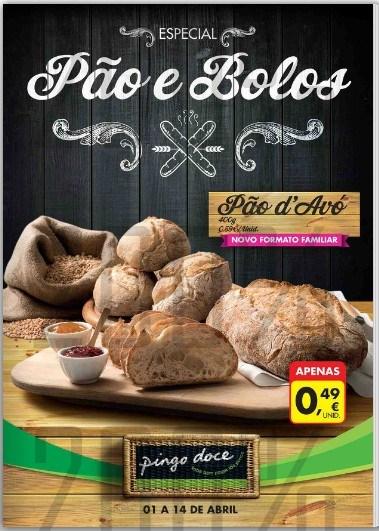 Novo folheto | PINGO DOCE | Especial Padaria de 1 a 14 abril