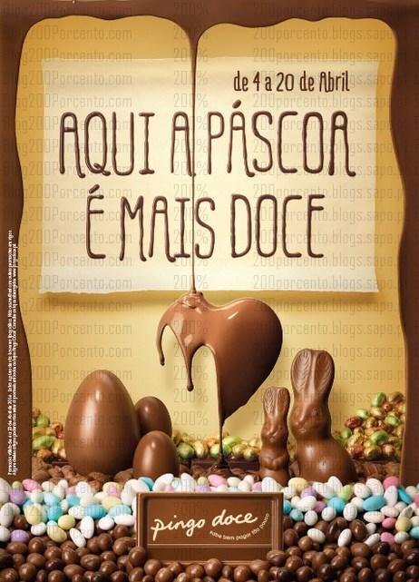 Novo folheto   PINGO DOCE   Pascoa mais doce, até 20 abril